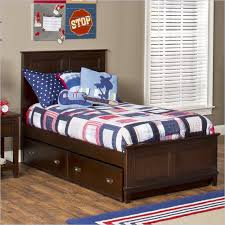 espresso twin bed a bedtime story designing the ideal room for a child