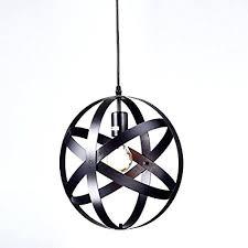 home designer pro lighting spherical light fixtures industrial metal spherical pendant displays