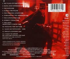james horner the mask of zorro music from the motion picture