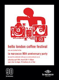 you are invited to celebrate la marzocco celebrates 90th anniversary at the london coffee festival