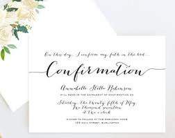 confirmation invitation girl baptism invitation invitacion bautizo christening