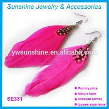 one sided earrings one side feather earrings one side feather earrings suppliers and