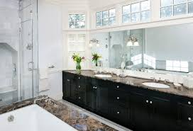 home design paint bathroom vanity cabinets with clerestory