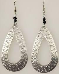 school earrings recycled aluminum can earrings fair trade crossroads send