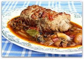 cuisiner le roti de veau un dimanche a la cagne rôti de veau farci aux herbes du jardin