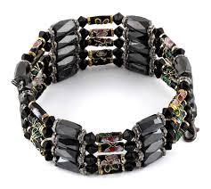 magnetic wrap bracelet images 32 quot magnetic hematite black crystal cloisonne wrap bracelet necklace gif