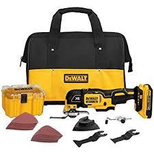 amazon tools black friday dewalt dcs355d1 20v xr lithium ion oscillating multi tool kit