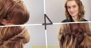 Hochsteckfrisurenen Mittellange Haar Flechten by Schön Frisuren Mittellanges Haar Flechten Deltaclic