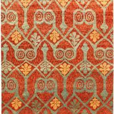 Orange And White Rugs Bedroom Awesome Ikat Rug For Interior Floor Design U2014 Deeshultz Com