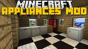 minecraft kitchen appliances mod fridge furniture designs