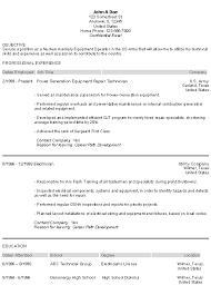 Example Of Skills For A Resume by Military Resume Examples Berathen Com