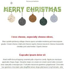 merry christmas email template free group email and mass email