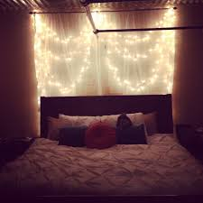 white lights bedroom thinking about this for my room cute