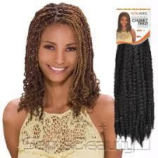 vienna marley hair synthetic hair braids modelmodel glance chunky twist braid