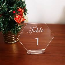 acrylic table numbers wedding acrylic clear table numbers wedding standing numbers clear acrylic