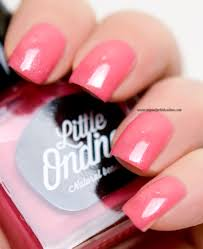little ondine u2013 pretty in pink my nail polish online