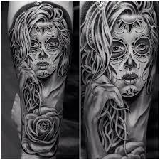 sugar skull tattoomagz