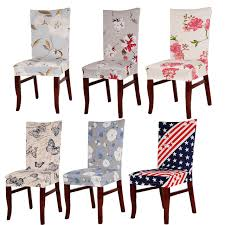 dining chair cover durable spandex polyester universal dining chair cover beautiful