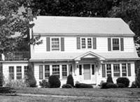 colonial revival style home antique homes colonial revival style