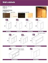Standard Kitchen Cabinet Door Sizes Wall Cabinet Depth Small Images Of Standard Kitchen Cabinet Door