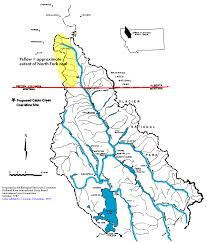 Montana River Map by Maps Flathead Lakers