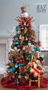 snowman tree topper trees how to decorate