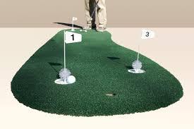 3 u2032 x 9 u2032 3 hole pro backyard or indoor putting green starpro greens