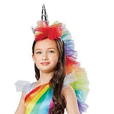 Unicorn Costume Totally Ghoul Halloween Girls Rainbow Unicorn Costume