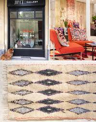 Scout Rugs Scouted Fashion Surplus Fabrics Recycled Into Boucharouite Rugs