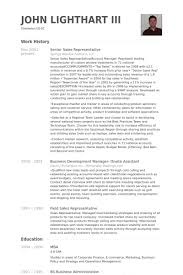 Sales Agent Resume Sample by Senior Sales Representative Resume Samples Visualcv Resume