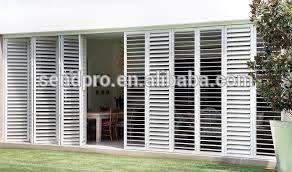balkon jalousie aluminium balkon jendela louver jalusi warna putih buy