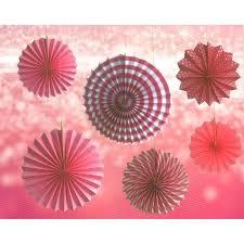 paper fans paper fans paper decorations party decorations mypartyshoponline