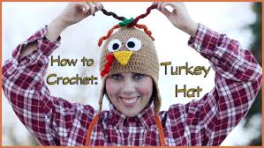 turkey hat how to crochet a turkey hat
