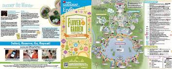 disney epcot map 2018 epcot flower and garden festival walt disney