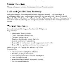 resume personal assistant resume awesome personal assistant