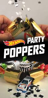 new years party poppers ring in the new year with hot wheels hot wheels news
