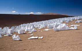 snow formations point to sun penitentes high altitude chilean