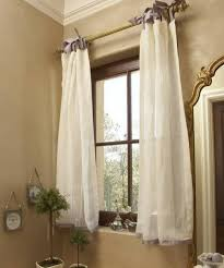 short bathroom window curtains without rods trendy bathroom