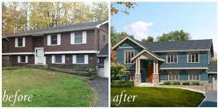 Updating Exterior Of Split Level Home - 5 curb attraction earlier than and afters that u0027ll knock your socks