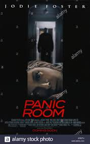 jodie foster poster panic room 2002 stock photo royalty free