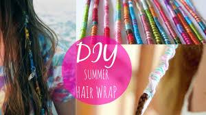 hair wraps diy summer hair wrap easy and activity