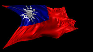 republic of china flag beautiful 3d animation of the republic of