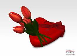 Valentine S Day Flower Decor by Second Life Marketplace Valentine U0027s Day Items Decoration