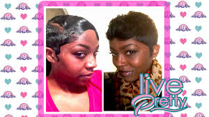 like the river hair styles how to wave mold style short pixie youtube