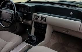 1990 Mustang Interior Pony Car Unicorn 1990 Mustang Notchback 5 0