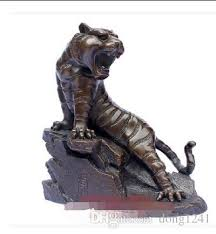 2018 open copper tiger ornaments copper tiger special wang zhengwei