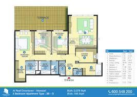 3 bedroom apartment floor plans apartments 3 bedroom ground floor plan mirdif dubai floor plans