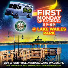 Lake Wales Florida Map by Food Truck Invasion On The Shores Of Lake Wailes U2013 Lake Wales