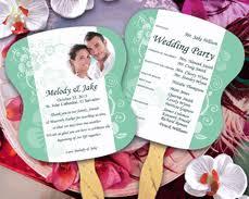 wedding fans wedding program fans personalized stick fans