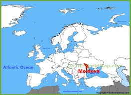 where is moldova on the map moldova location on the europe map